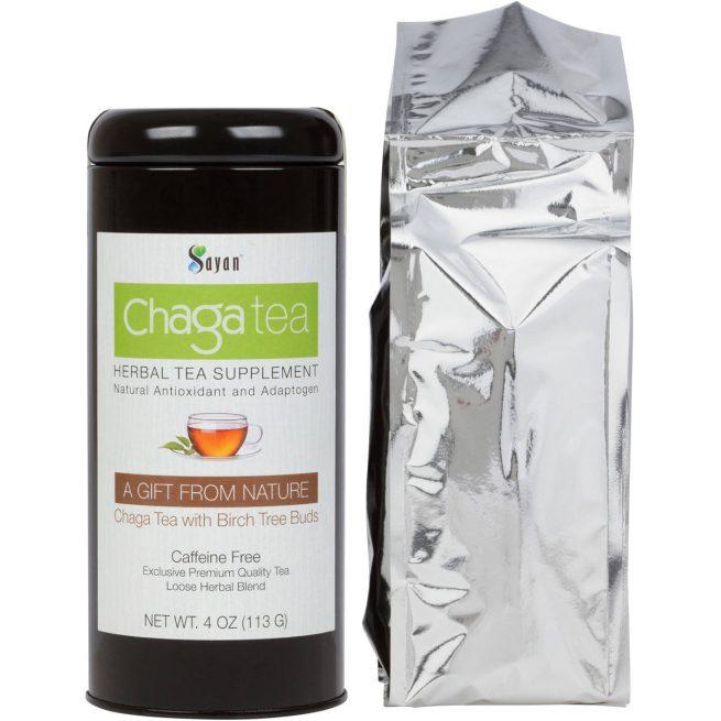 chaga tea birch
